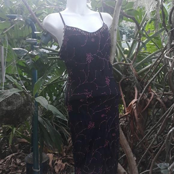 Betsey Johnson Dresses & Skirts - Betsey Johnson pink and black jeweled dress Xs